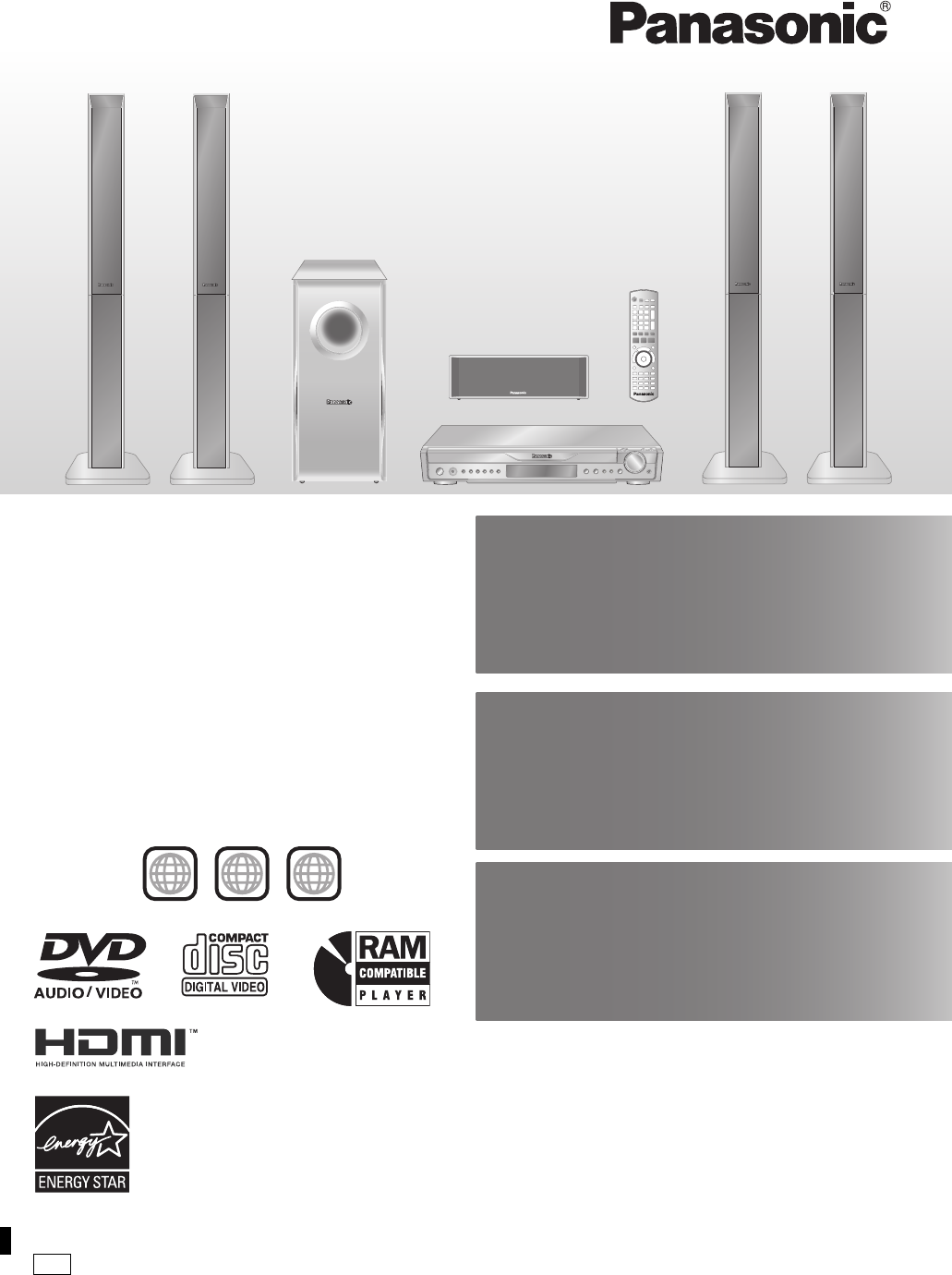 panasonic home theater system sc