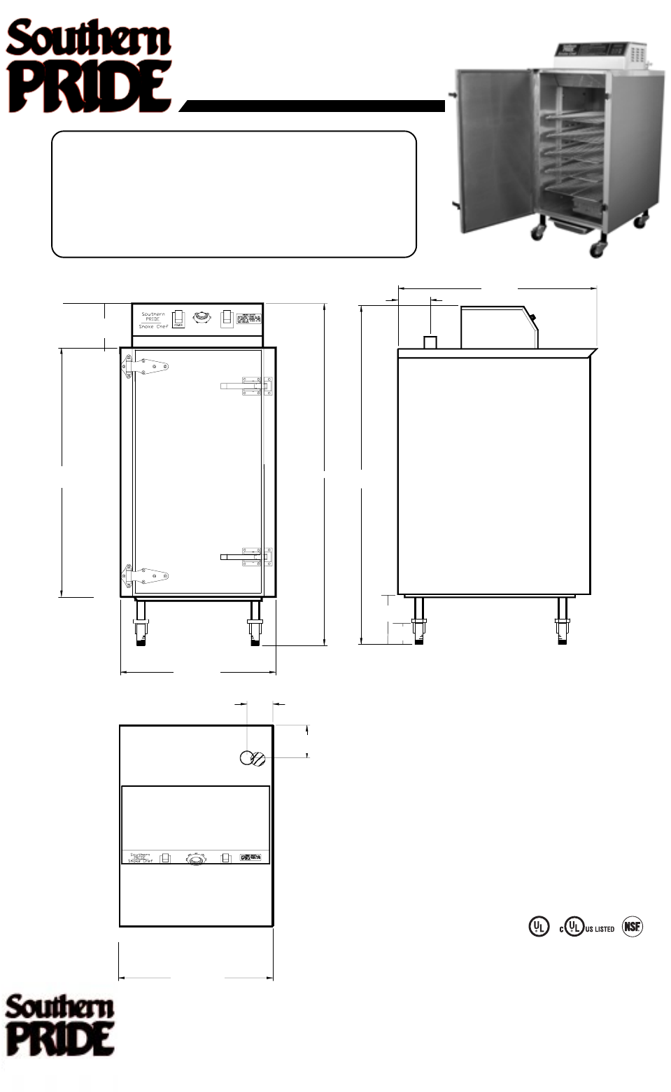 Southern Pride Smoker Wiring Diagram Electricity Sc 100 User Guide Manualsonline Com Rh Outdoorcooking Smokers