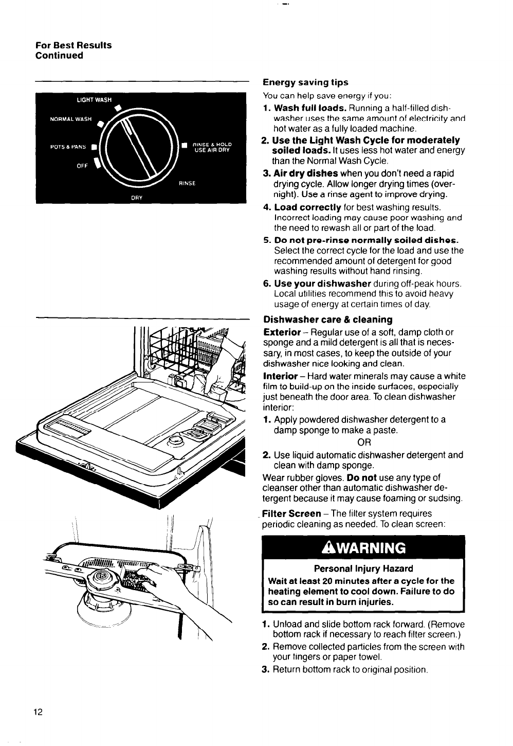 page 12 of whirlpool dishwasher 8400 series user guide rh kitchen manualsonline com Philips User Guides Philips Electronics Manuals