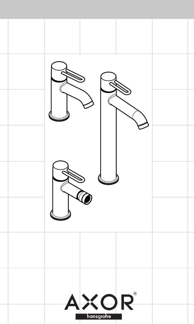 Hans Grohe Indoor Furnishings 38020XX1 User Guide