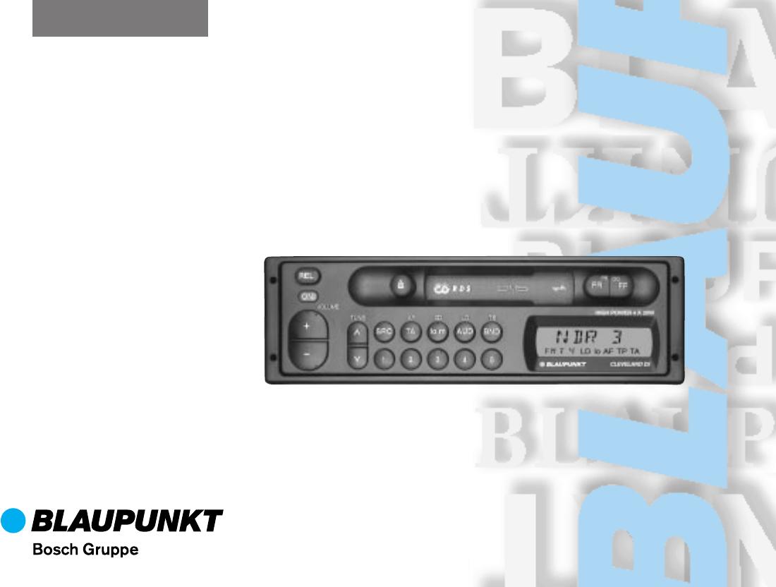 blaupunkt car stereo system dj a user guide manualsonline com rh caraudio manualsonline com blaupunkt daytona mp26 user guide Blaupunkt Logo
