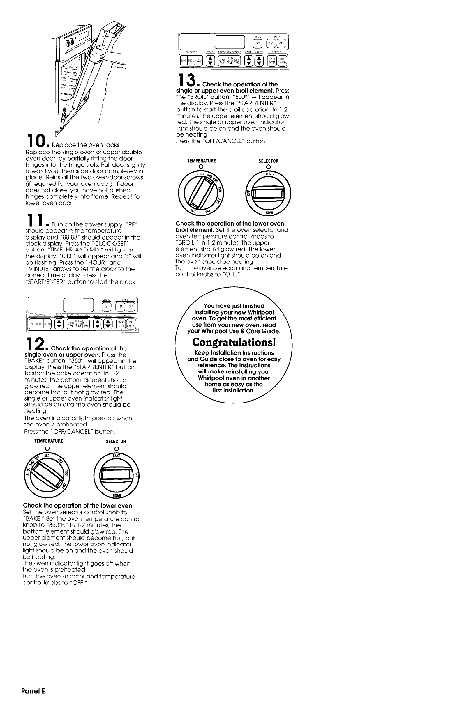 page 6 of maytag oven 3183636 user guide manualsonline com rh kitchen manualsonline com maytag gemini double oven user guide maytag oven instruction guide