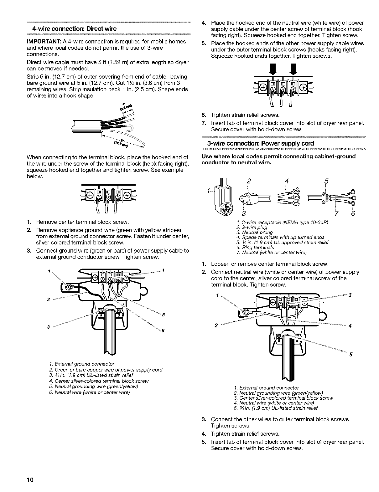 Page 10 of Kenmore Clothes Dryer 8519319A User Guide | ManualsOnline.com
