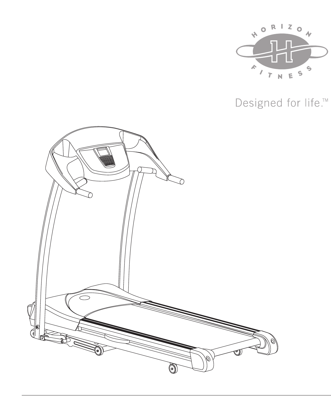 Horizon Fitness Treadmill Power Cord: Horizon Fitness Treadmill T805 User Guide
