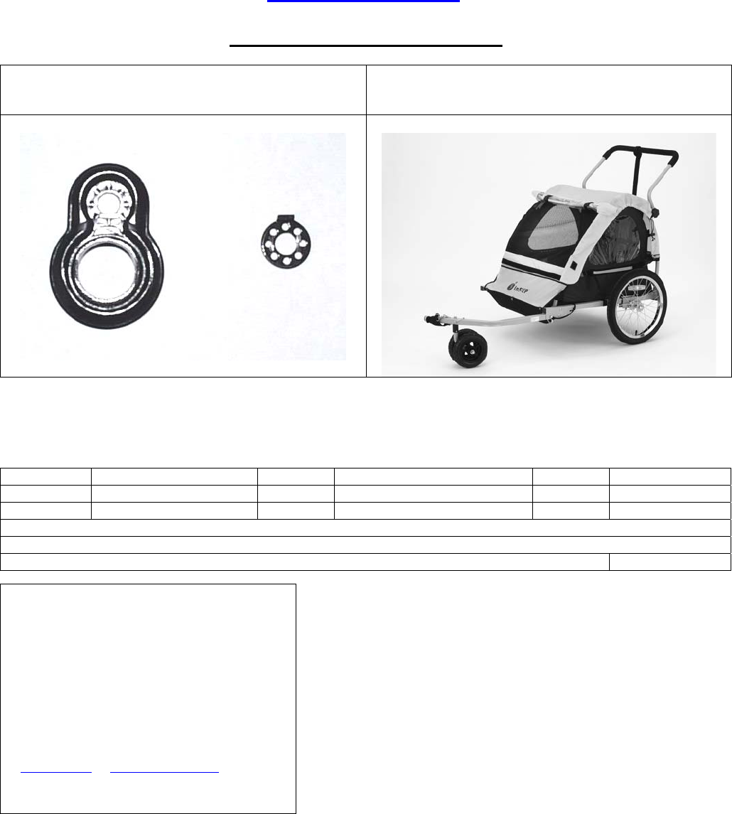 page 10 of instep bicycle accessories qe100a user guide rh fitness manualsonline com instep bicycle trailer manual schwinn instep bike trailer manual