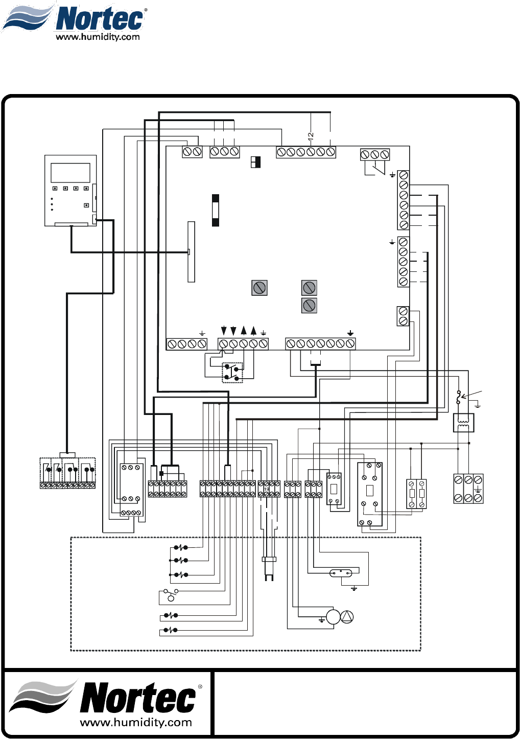 page 4 of nortec industries humidifier mhtc user guide mh wiring diagram