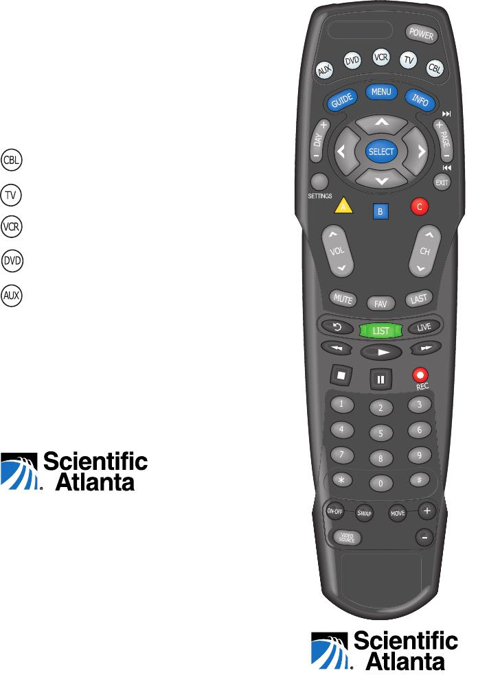 scientific atlanta universal remote at8550tm user guide Operators Manual Toyota Owners Manual