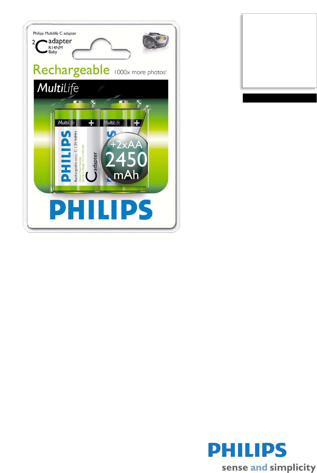 philips camera accessories r14b2a245 27 user guide manualsonline com rh camera manualsonline com Philips TV Manual Philips Electronics Manuals