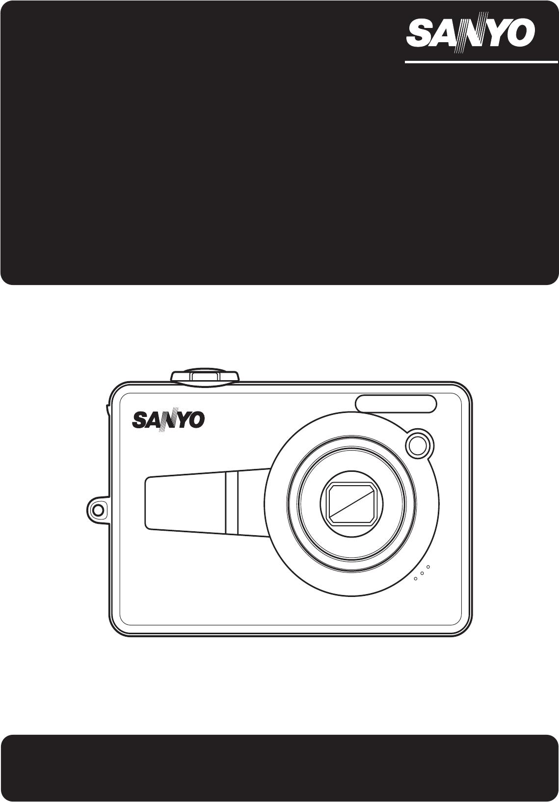 sanyo digital camera vpc e760 user guide manualsonline com rh tv manualsonline com