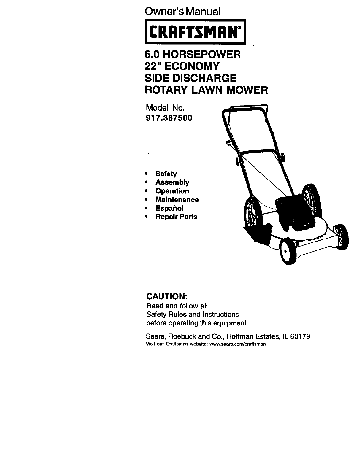 rover craftsman lawn mower manual iso 1048721995 passenger cars