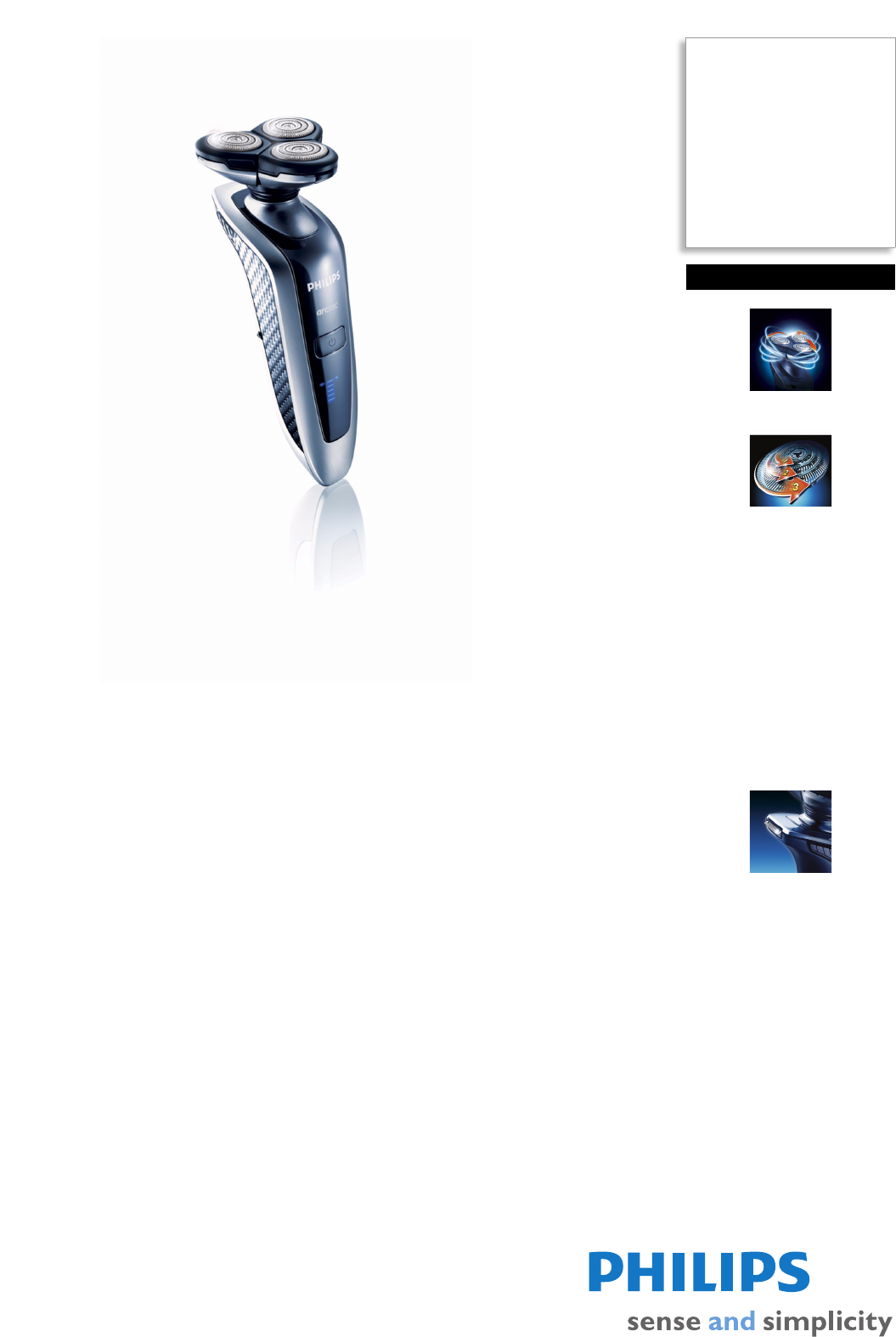 philips electric shaver rq1060 user guide manualsonline com rh personalcare manualsonline com Philips Instruction Manuals Philips Electronics Manuals