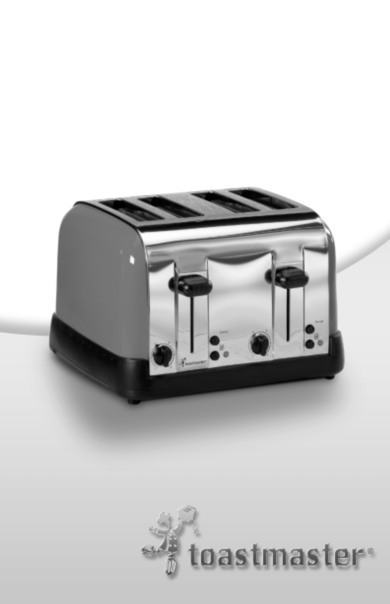 Toastmaster Toaster T475C User Guide