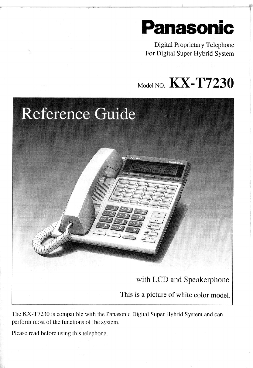 Panasonic Conference Phone Kx Manual Guide