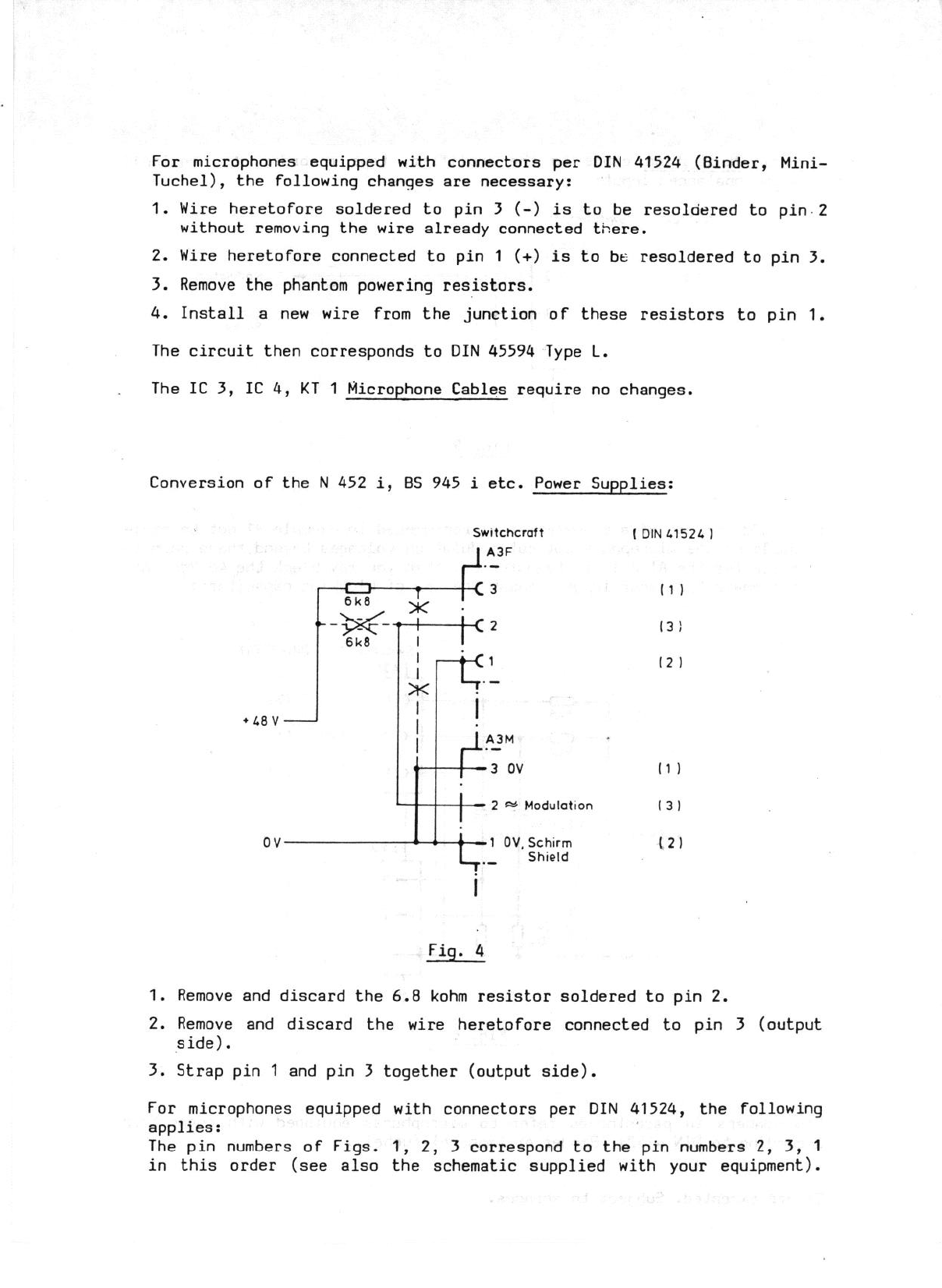 Page 3 of Neumann.Berlin Microphone fet 80R (i) User Guide ...