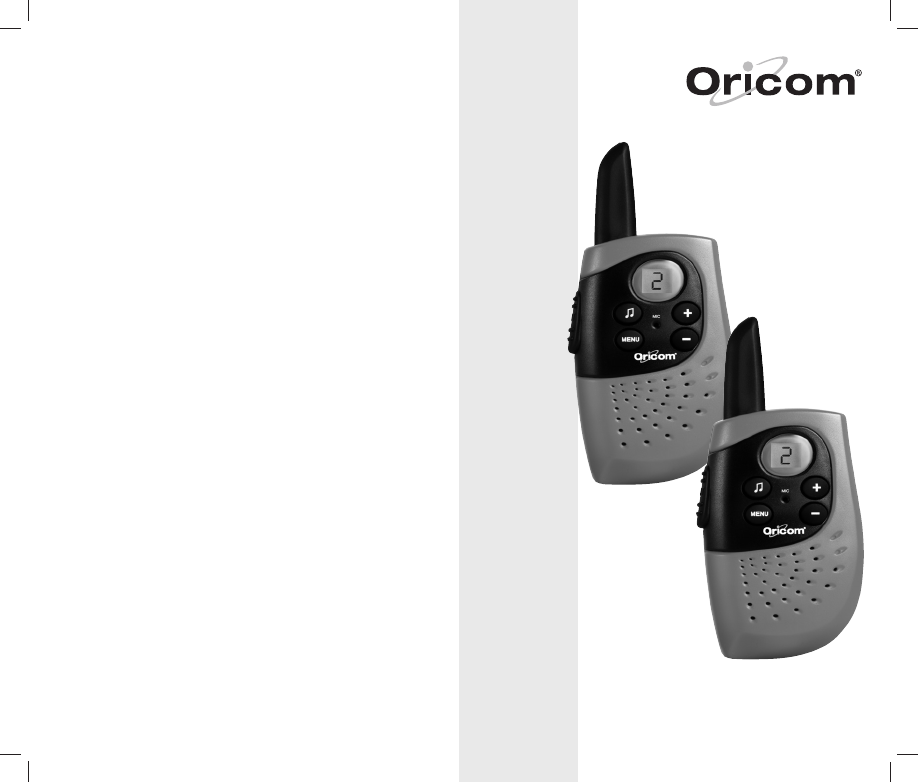 oricom two way radio pmr655 user guide manualsonline com rh phone manualsonline com Samsung Phone Manuals NEC Phone Manuals