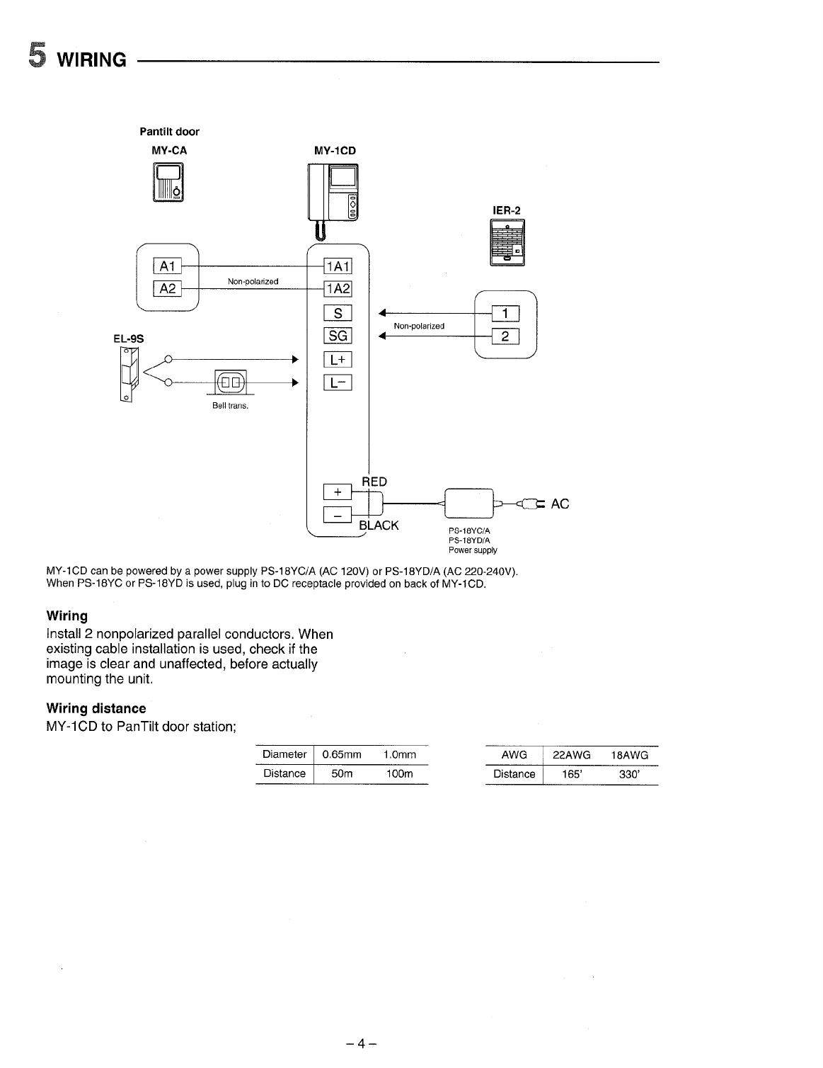 page 4 of aiphone home security system my 1cd user guide rh homeappliance manualsonline com