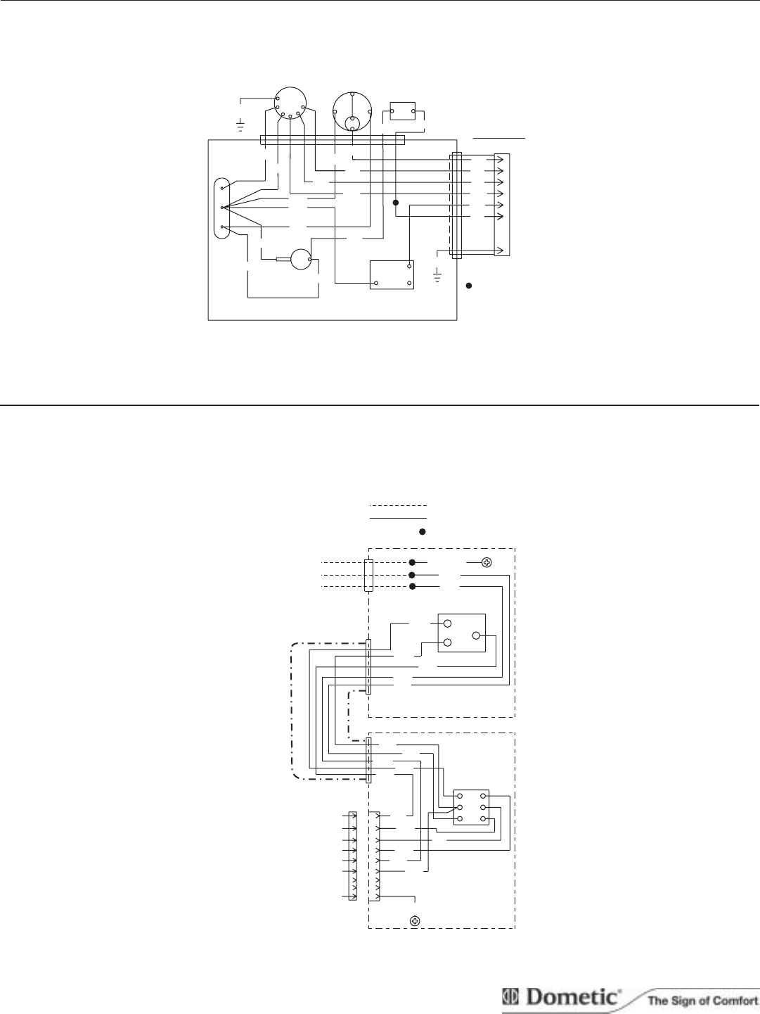duo therm rv air conditioner diagram