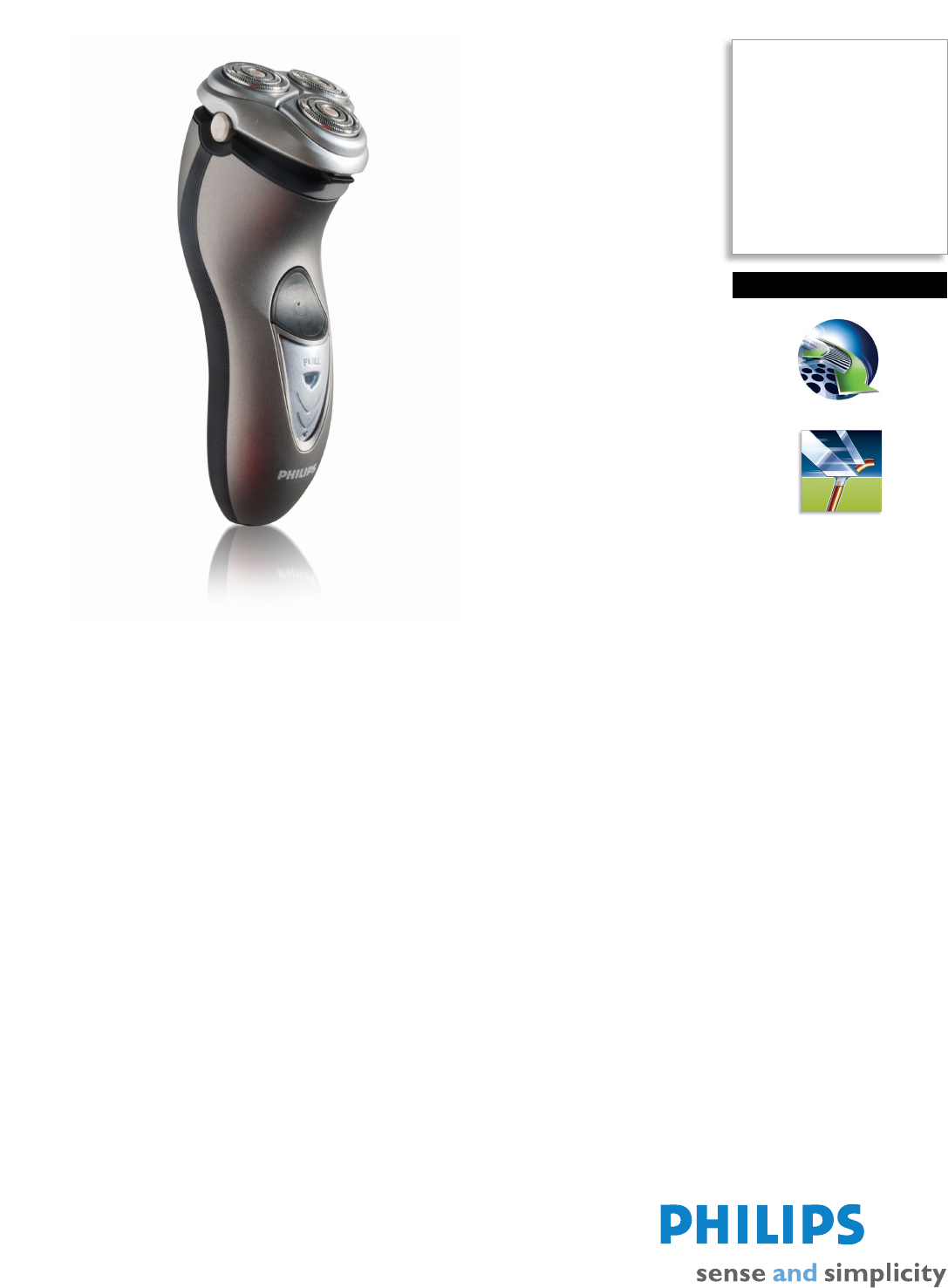 philips electric shaver hq8240 user guide manualsonline com rh manualsonline com User Guide Template Quick Reference Guide