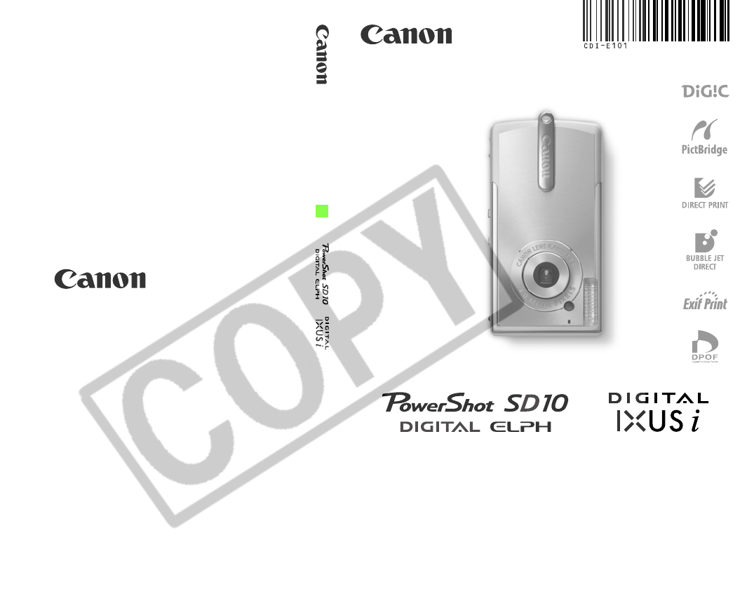 canon digital camera sd10 pc1060 user guide manualsonline com rh office manualsonline com Canon T2i Manual canon pc 1060 user manual