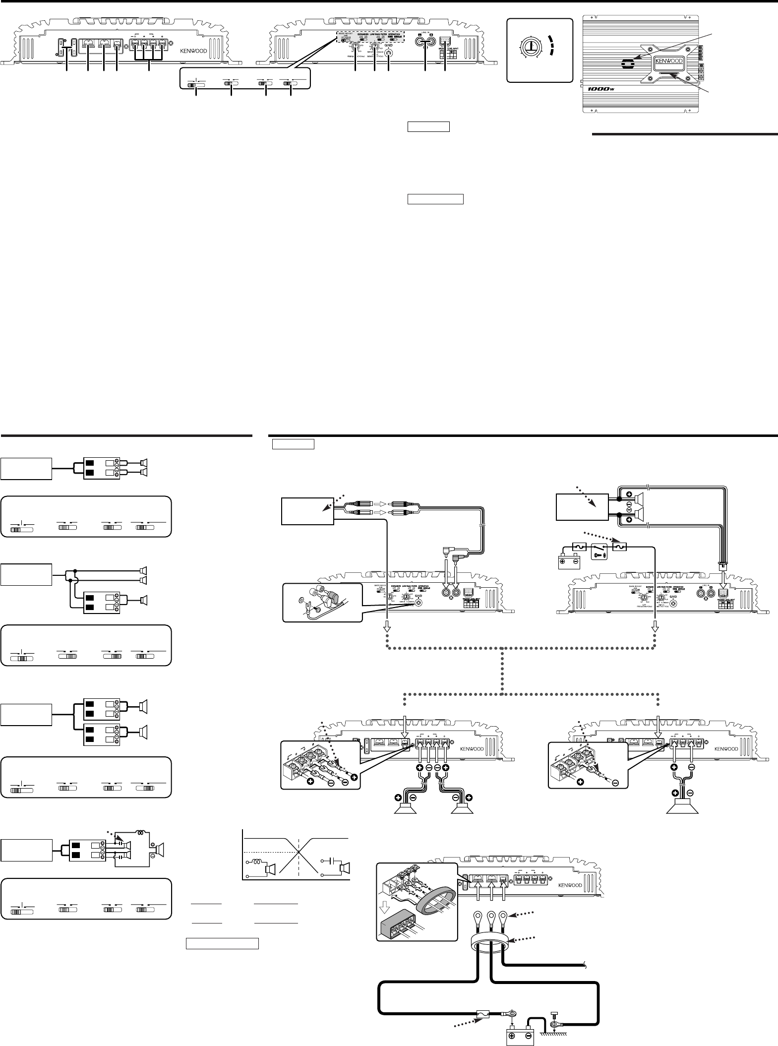 Page 2 of kenwood car stereo system kac 929 user guide kenwood kac 929 car stereo system user manual sciox Gallery
