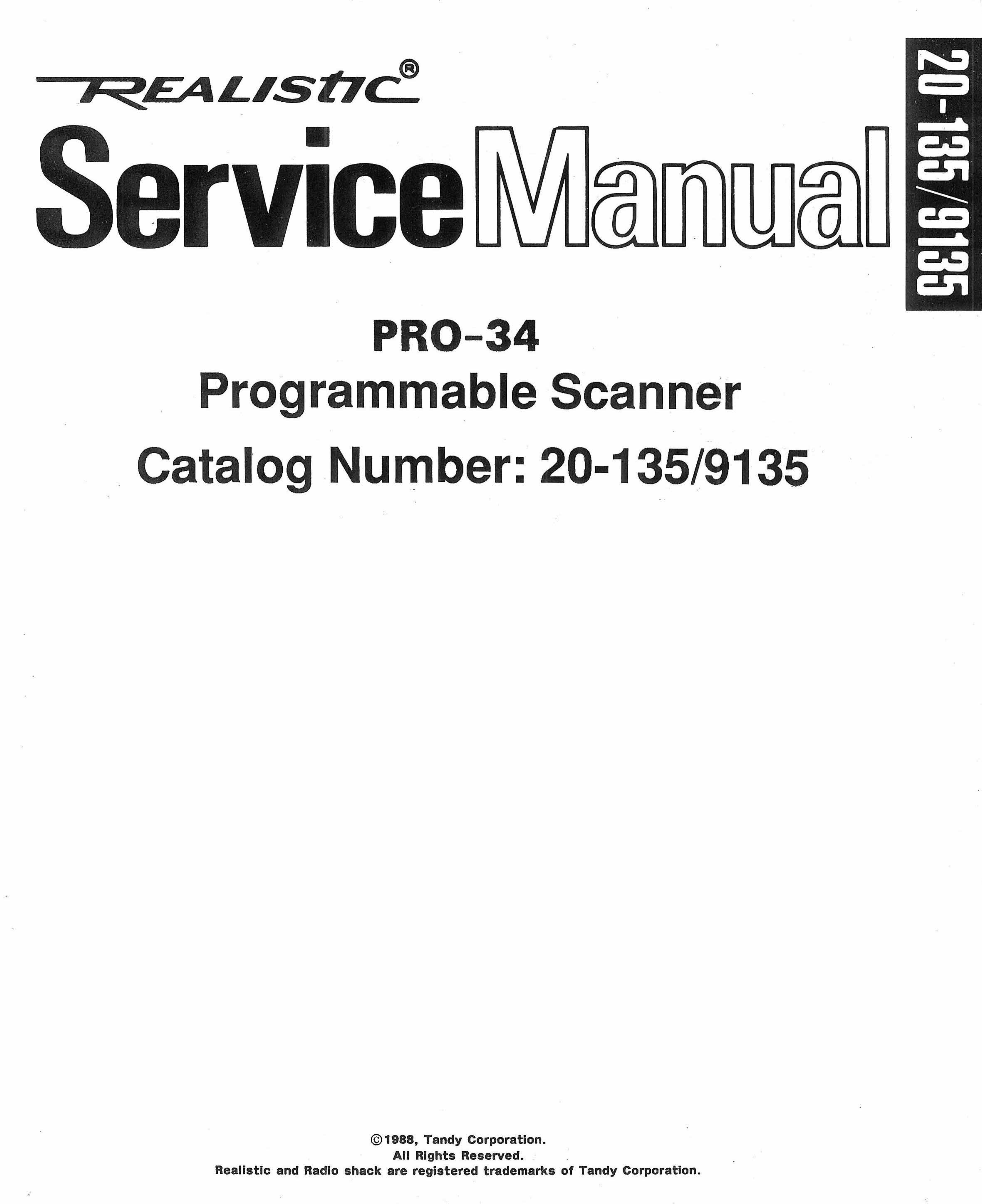 realistic scanner pro 34 user guide manualsonline com rh office manualsonline com Scanner Pro App hp sd pro scanner user guide