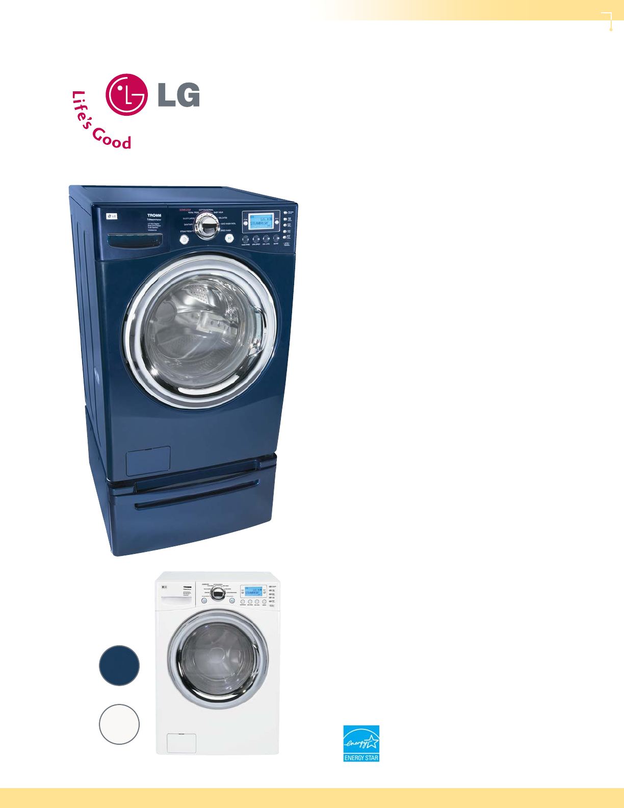 lg electronics washer wm2688h user guide manualsonline com rh fitness manualsonline com LG Dryer Repair Manual lg tromm washer and dryer user manual