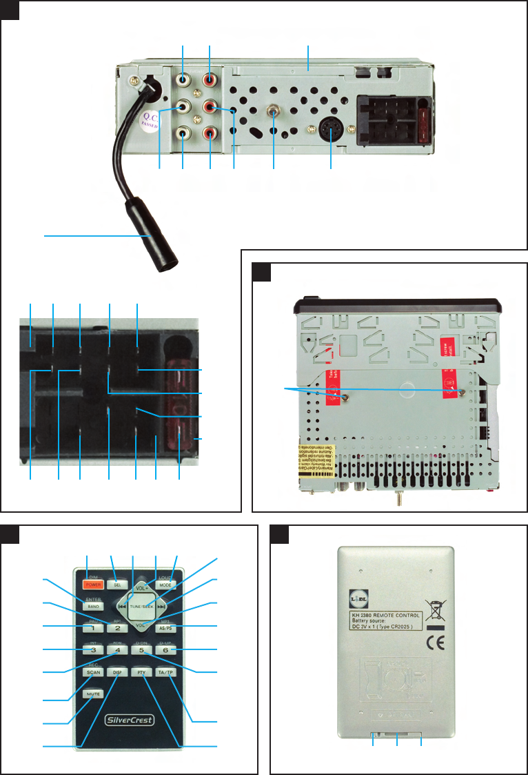 Page 4 Of Silvercrest Car Stereo System Kh 2380 User Guide
