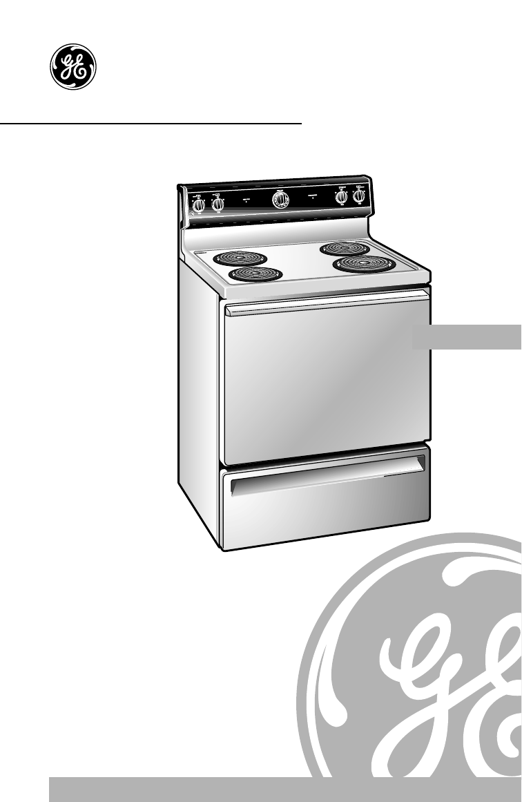 Ge range jbs26 user guide - Ge kitchen appliances ...
