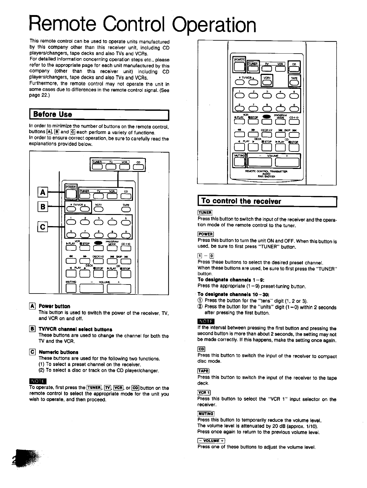 page 20 of technics stereo receiver sa gx130d user guide rh audio manualsonline com Example User Guide Kindle Fire User Guide