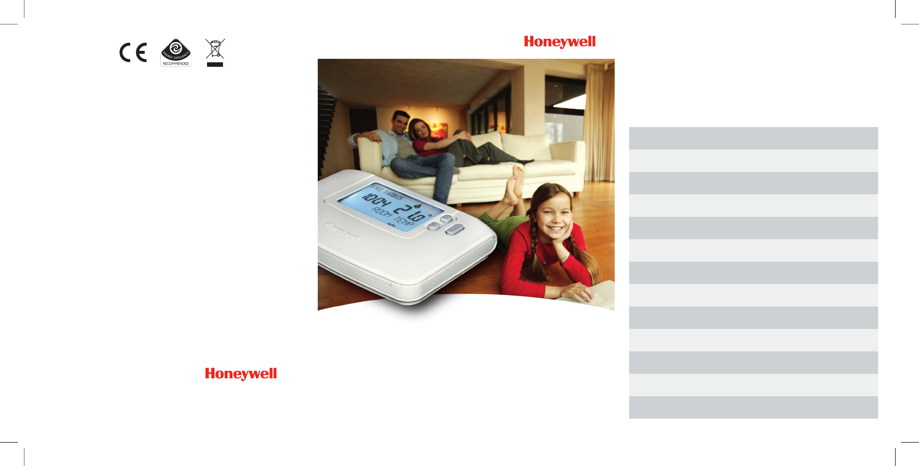 honeywell 7 day programmable thermostat manual pdf