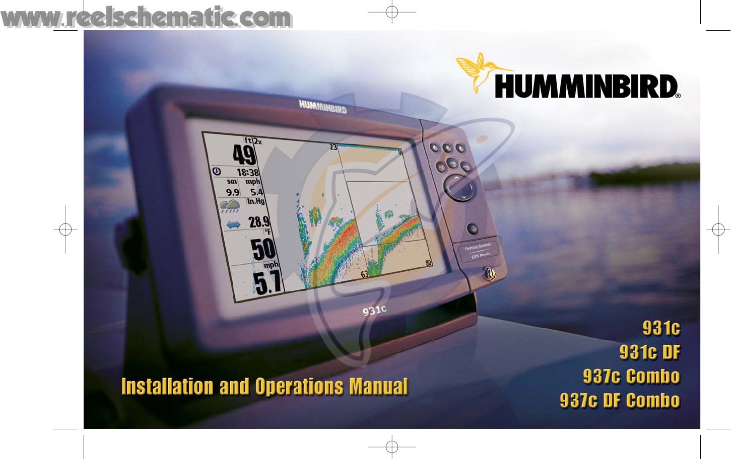 humminbird fish finder 937c df combo user guide manualsonline com rh marine manualsonline com