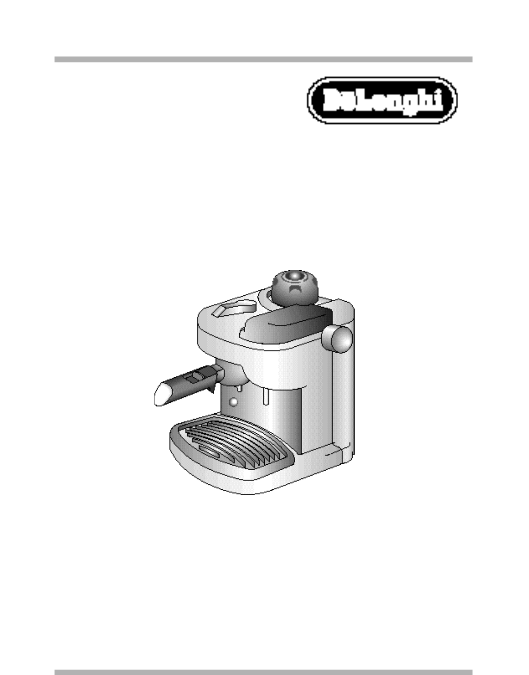 DeLonghi Coffeemaker BAR8 User Guide ManualsOnline.com