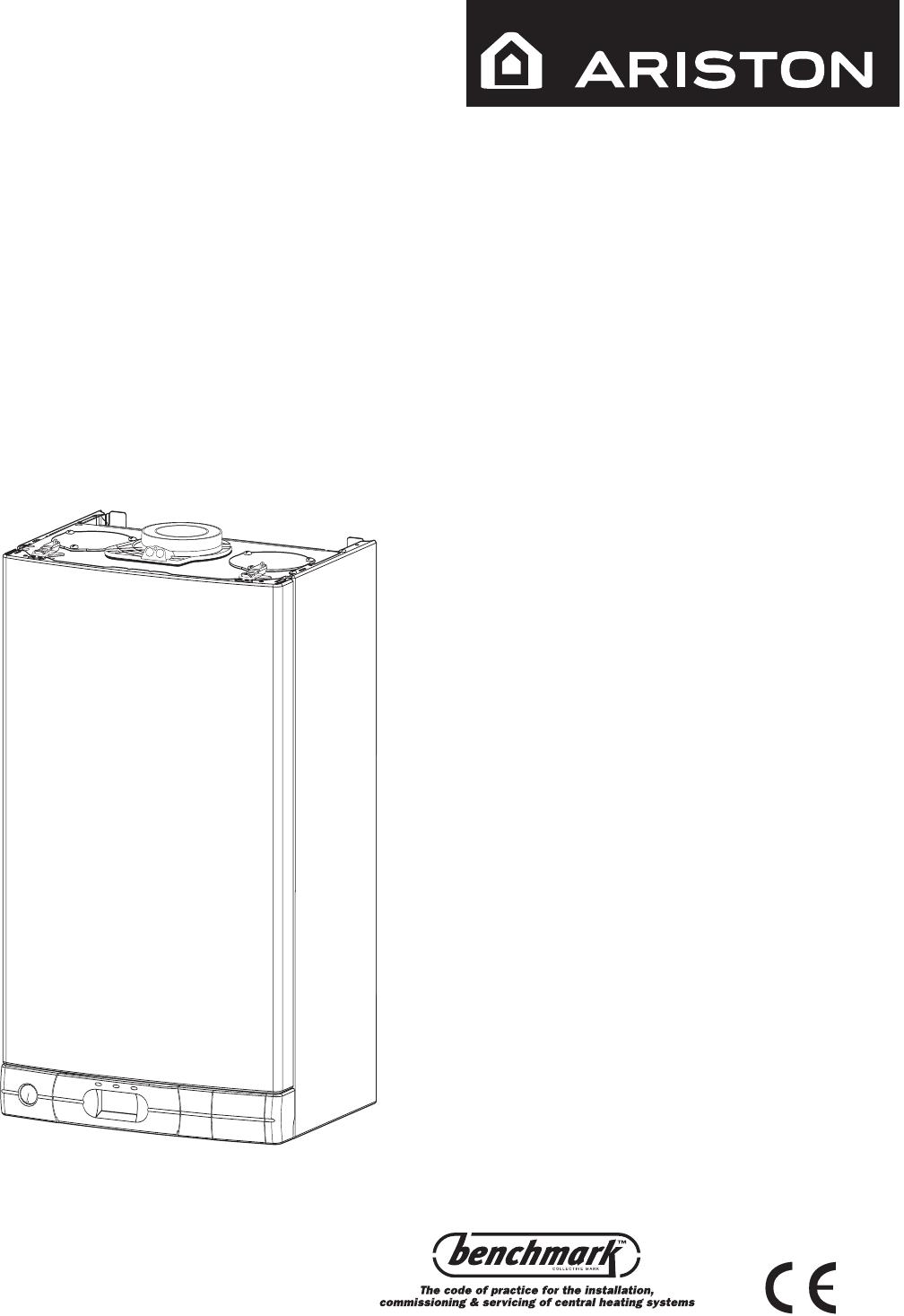 Ariston Boiler System A 24 RFF User Guide | ManualsOnline.com