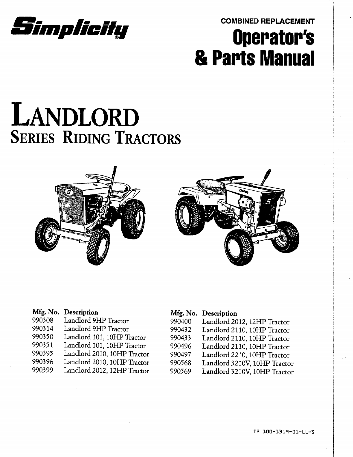 simplicity lawn mower 990400 user guide manualsonline com rh lawnandgarden manualsonline com Simplicity Regent Riding Mower Simplicity Mower Deck Belt Diagram