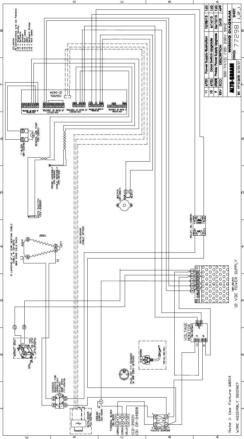 Page 50 Of Alto Shaam Convection Oven 1000 Sk Iii User Guide Wiring Diagram Pg48 Mn 29758rev4th Iiisk Iiiinstallation Operation Servicemanual