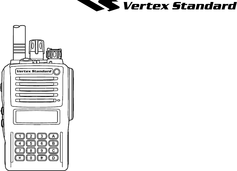vertex standard vx 426 manual