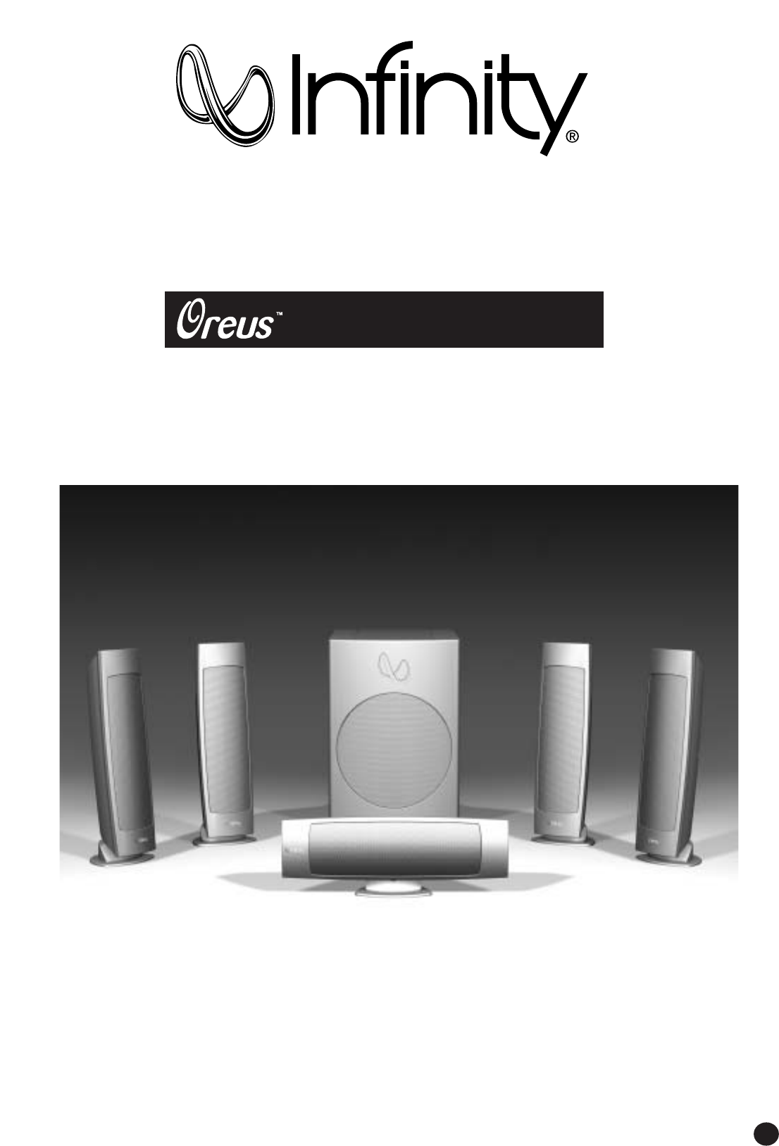 Infinity Home Theater System Oreus Hcs User Guide