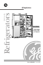 Free GE Refrigerator User Manuals | ManualsOnline.com Ge Refrigerator Schematic Diagram Tfh Pr on