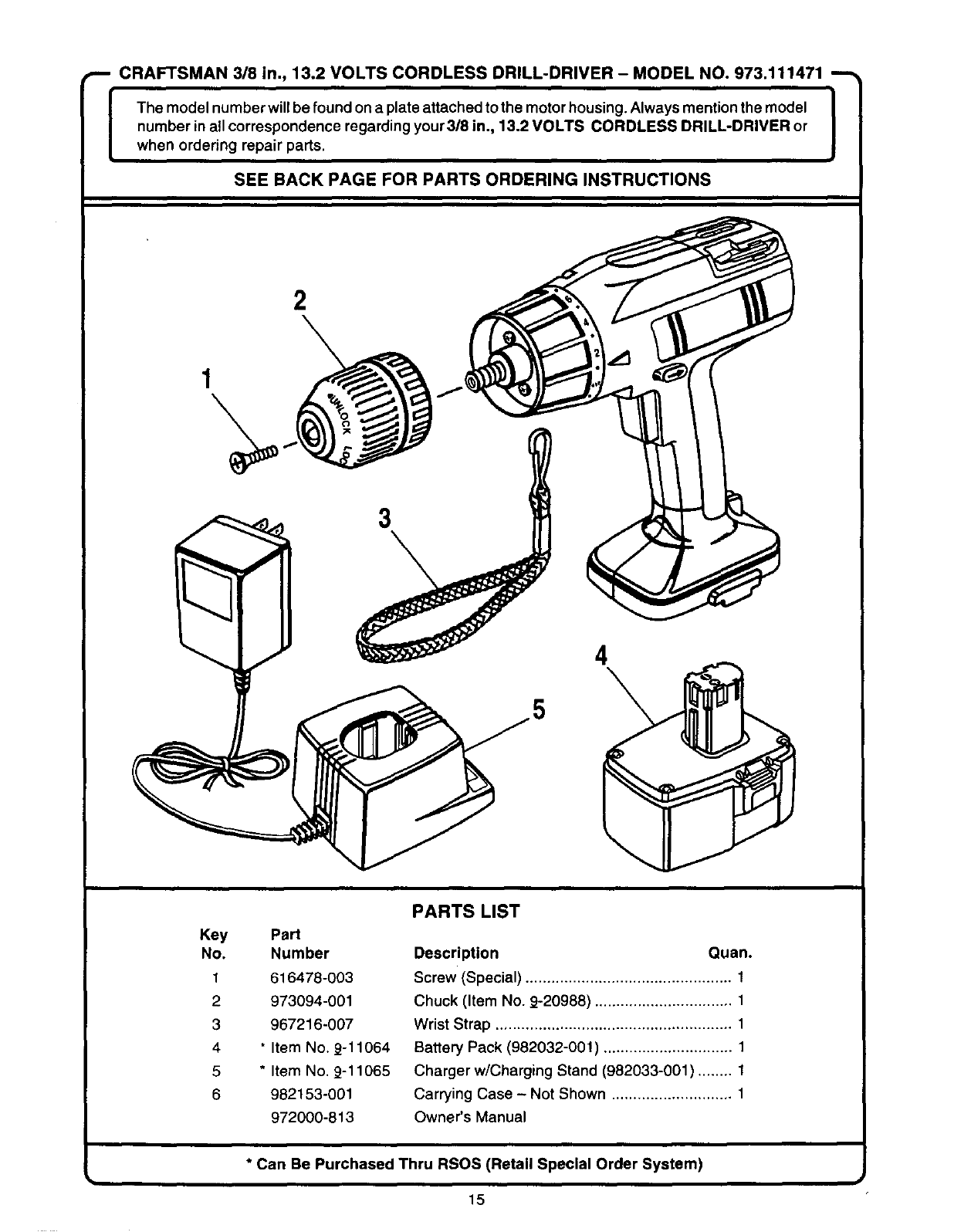 page 15 of craftsman cordless drill user guide. Black Bedroom Furniture Sets. Home Design Ideas