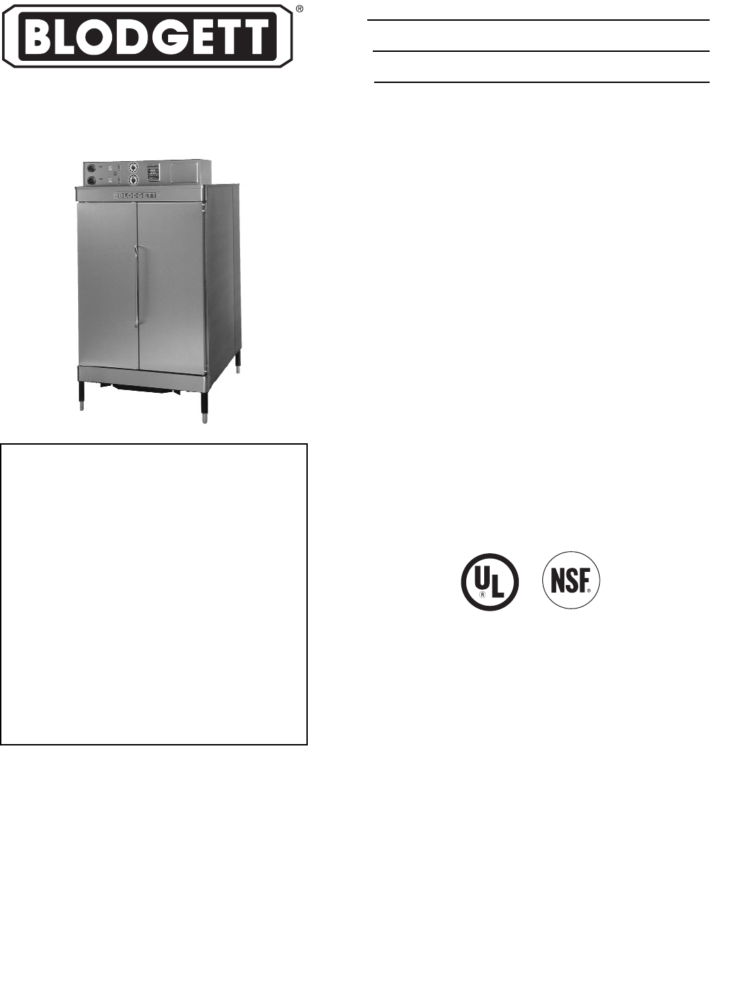 Blodgett Oven Re 42 User Guide Manualsonlinecom Wiring Diagram Company