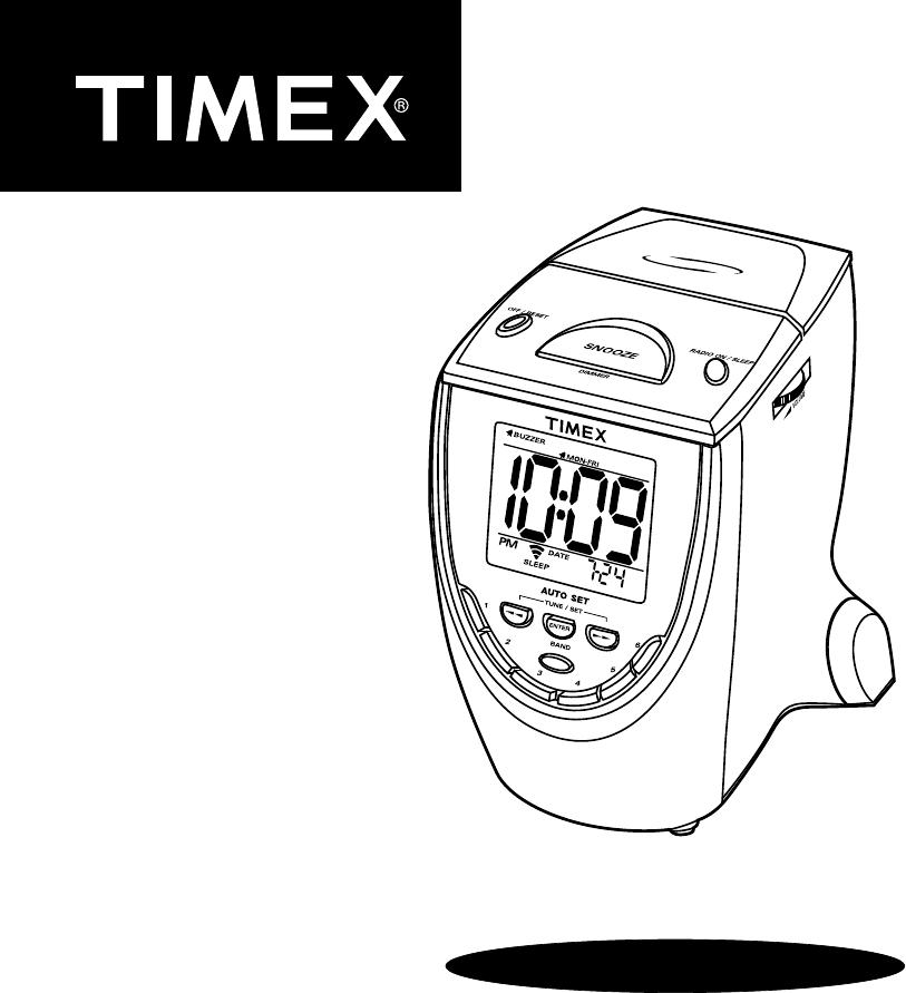 timex clock radio t313 user guide manualsonline com rh portablemedia manualsonline com