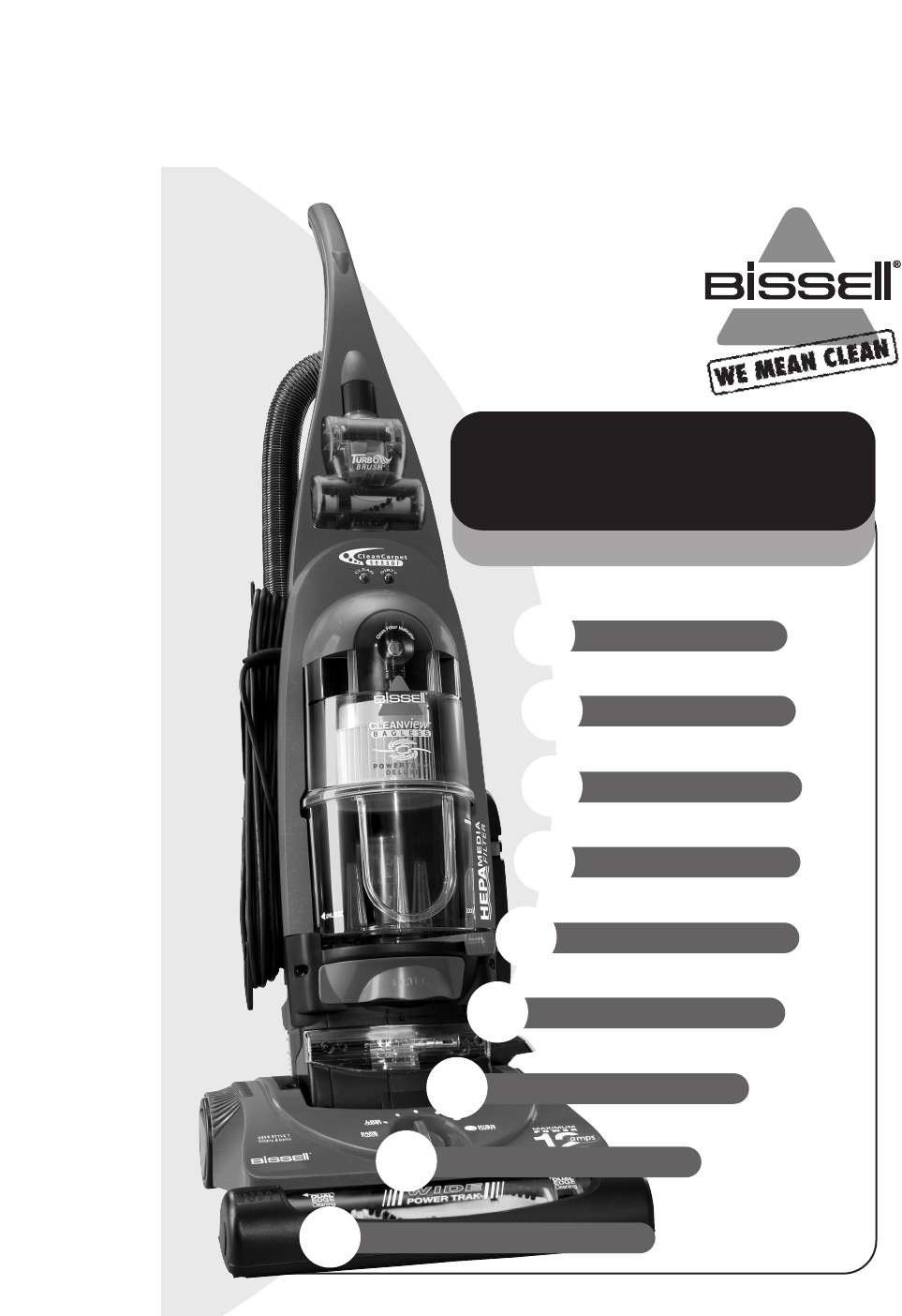 bissell vacuum cleaner 6590 user guide manualsonline com rh homeappliance manualsonline com bissell owners manual for 66e2-1 bissell owners manual for 66e2-1