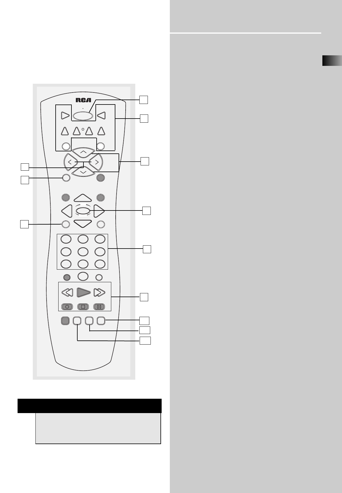page 14 of rca stereo receiver rt2280 user guide manualsonline com rh audio manualsonline com RCA Home Theater System RCA Receiver