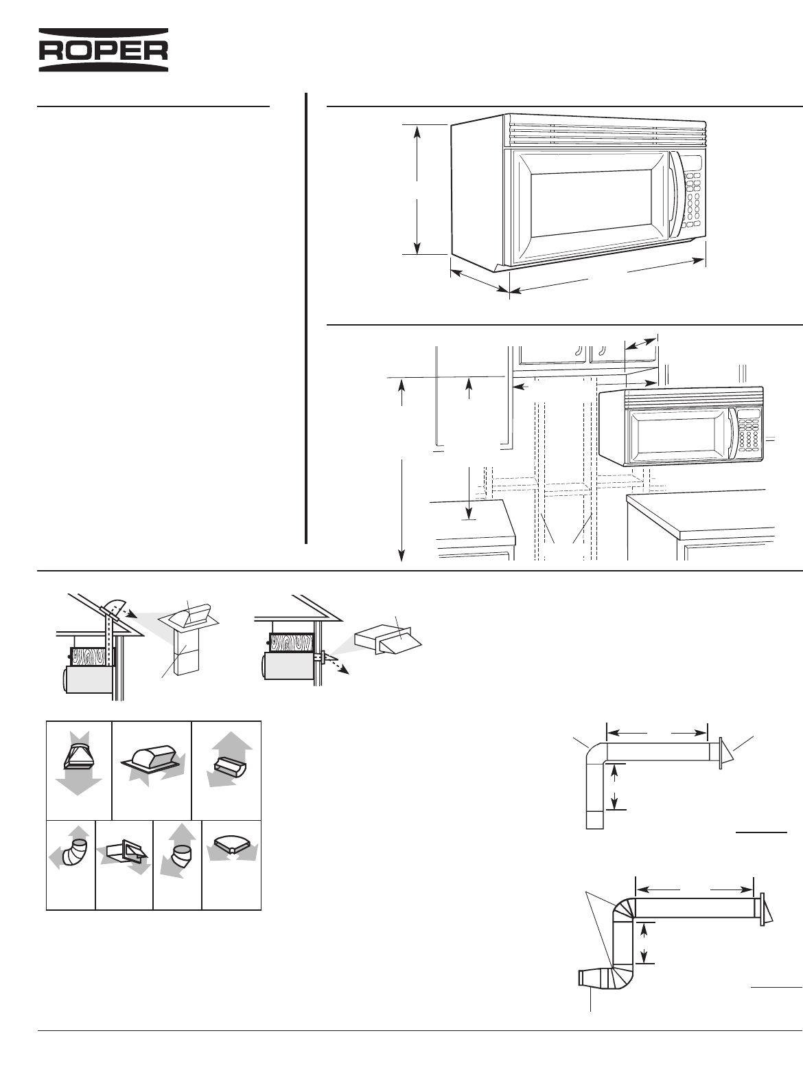 Roper Microwave Oven Mhe14x User Guide