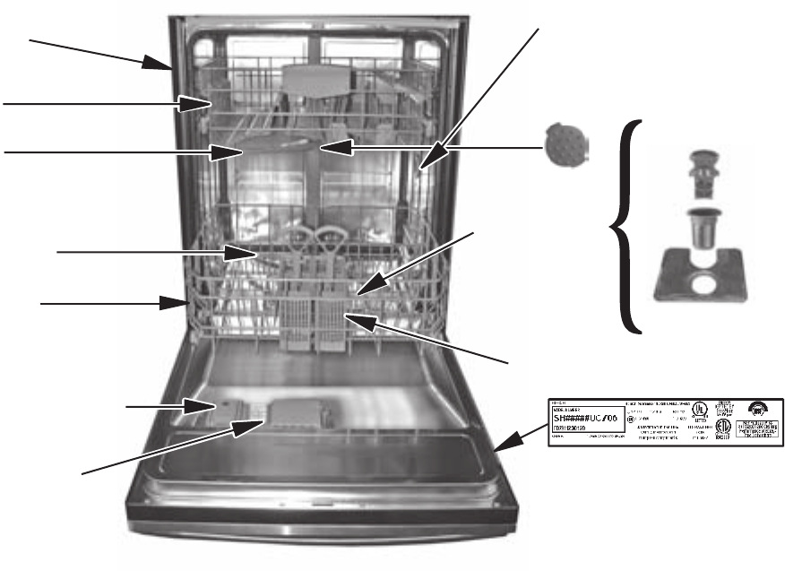 Page 7 Of Bosch Appliances Dishwasher She55m User Guide