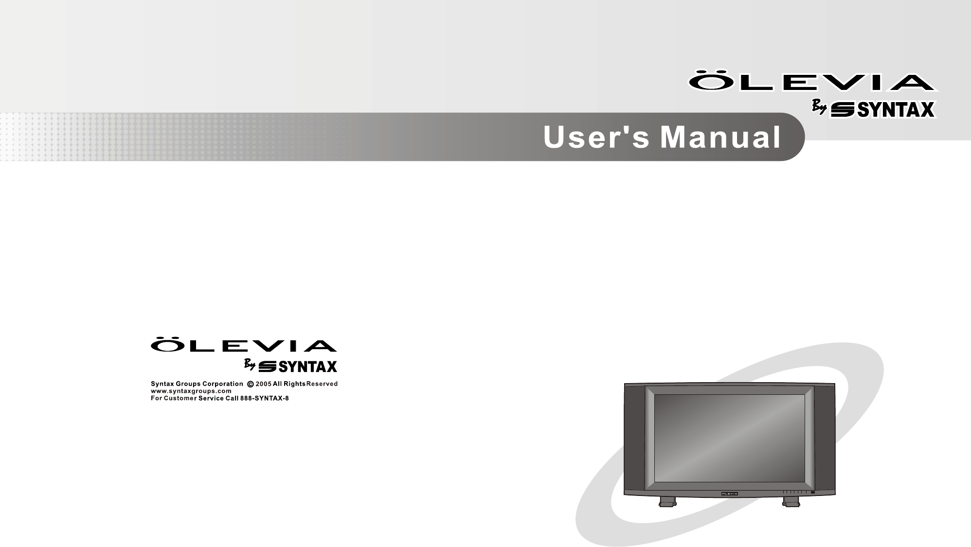 olevia flat panel television lt32hve series user guide rh tv manualsonline com Syntax Examples Space Syntax