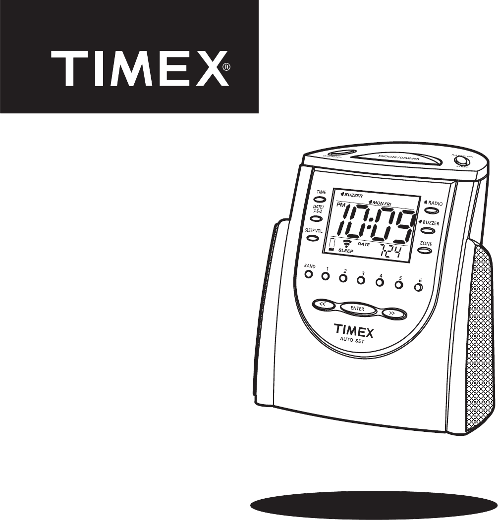 timex weather products clock radio t311 user guide manualsonline com rh portablemedia manualsonline com timex alarm clock radio manual t308s timex alarm clock radio manual t235y