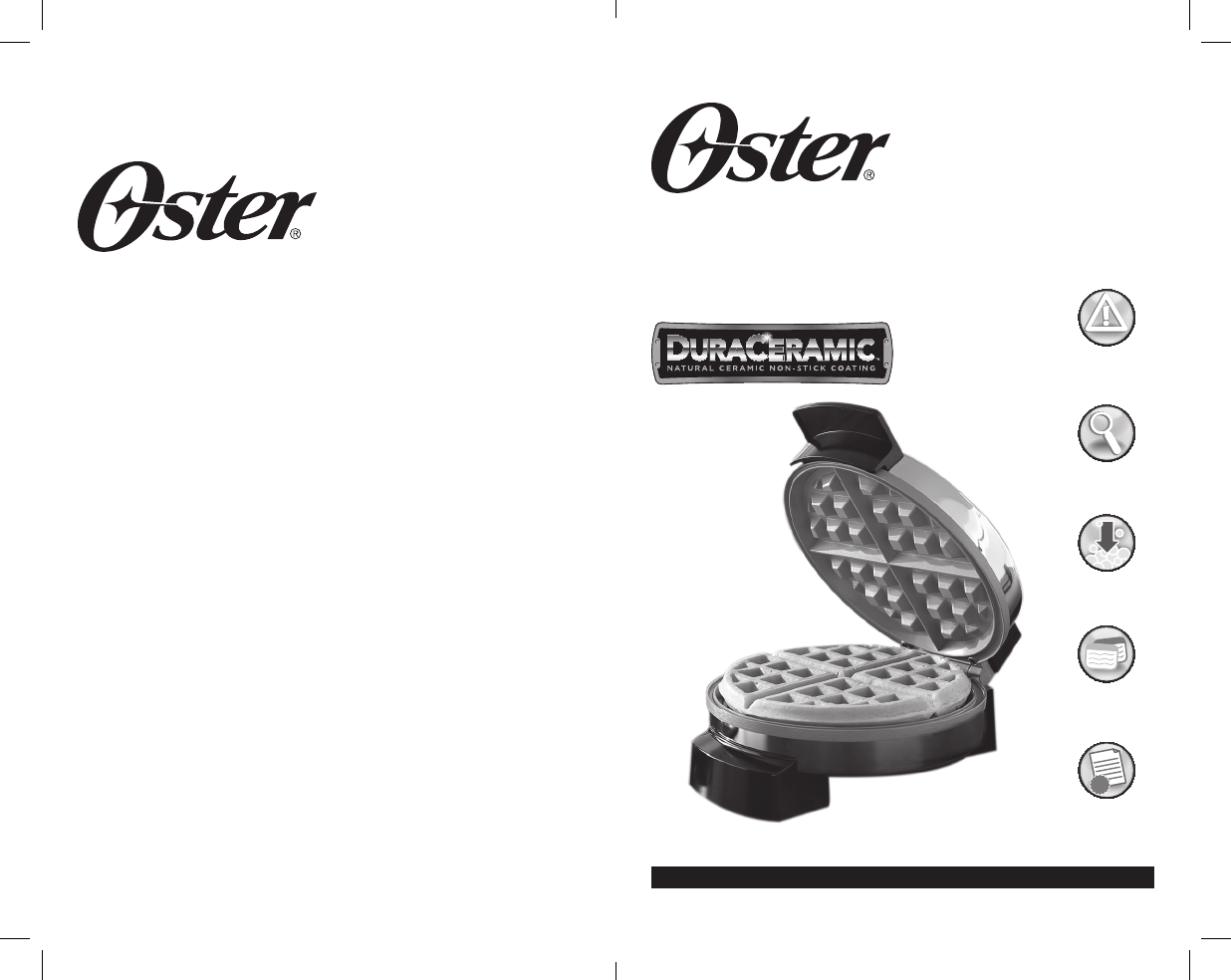 watch more like sunbeam waffle maker manual oster toaster p n 166131 user guide manualsonline com