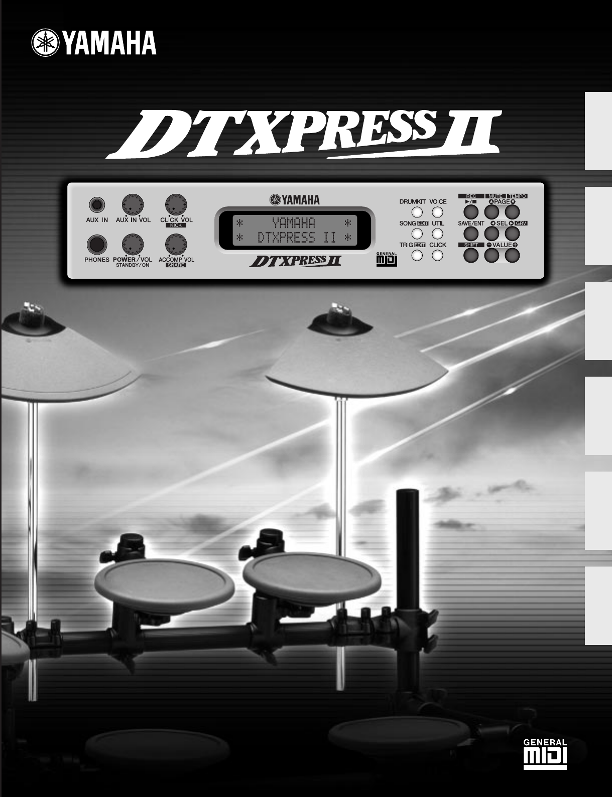 Yamaha Dtxpress  Manual
