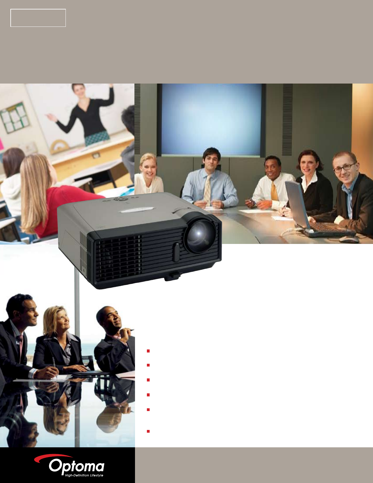 optoma technology projector ep719 user guide manualsonline com rh office manualsonline com Old Optoma DLP Projector Optoma Projector Old